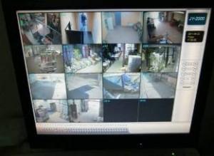 Пример работы сервера видеонаблюдения (ООО «Лига Пак»)